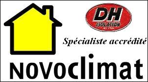 Dh isolation est un spécialiste accrédité NOVOCLIMAT pour la grande région métropolitaine. Montréal Laval Lanaudière et les Laurentides. Isolation, insonorisation avec le spécialiste DH ISOLATION.